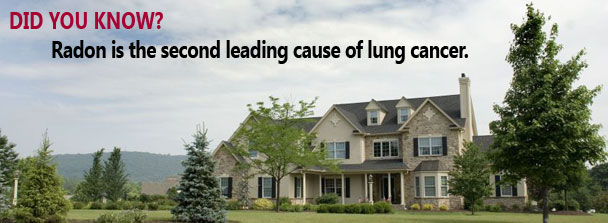Radon a leading cause of lung cancer