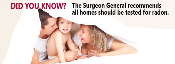 Radon Testing to protect your family